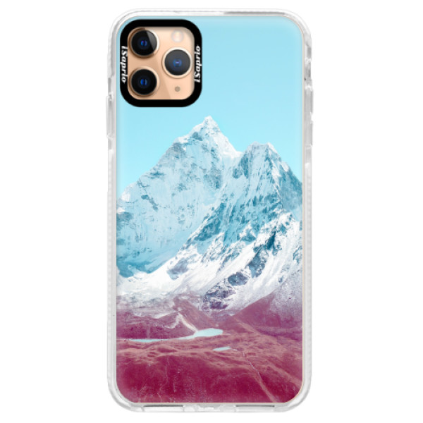 Silikonové pouzdro Bumper iSaprio - Highest Mountains 01 - iPhone 11 Pro Max