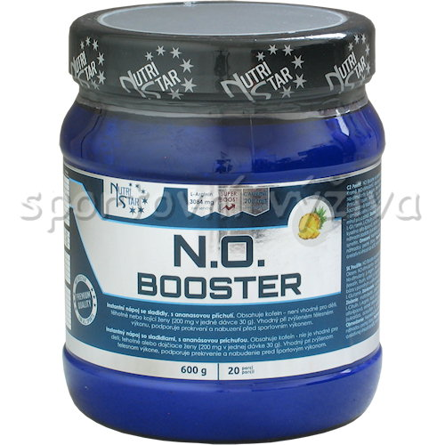 N.O. Booster 600g-ananas