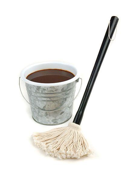 Sada mopu a kbelíčku na omáčku