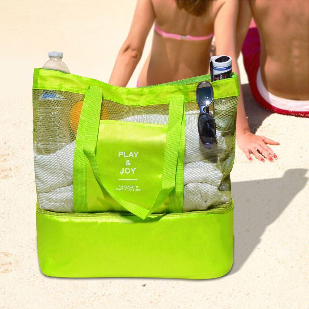 Taška s termo přihrádkou - zelená