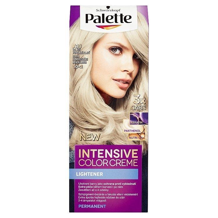 Schwarzkopf Intensive Color Creme barva na vlasy Zvlášť Popelavě Plavý A10 (10-2)