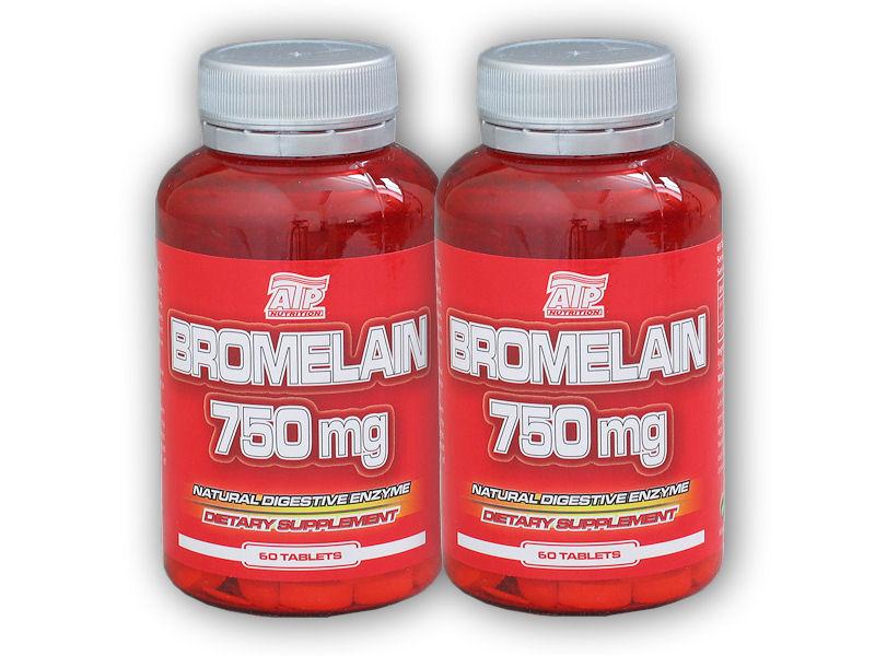 2x Bromelain 750mg 60 tablet