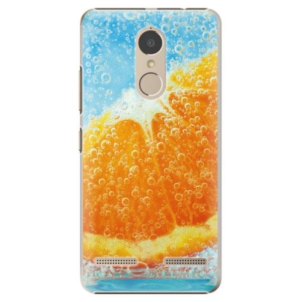Plastové pouzdro iSaprio - Orange Water - Lenovo K6