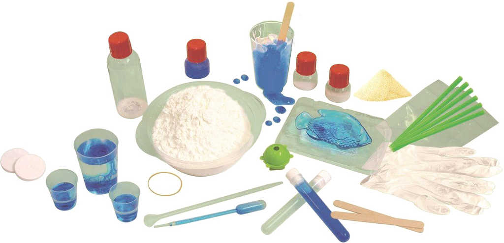 TREFL HRA Výroba slizu 17 pokusů slizová fabrika Science 4 you v krabici