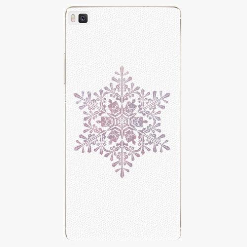 Plastový kryt iSaprio - Snow Flake - Huawei Ascend P8