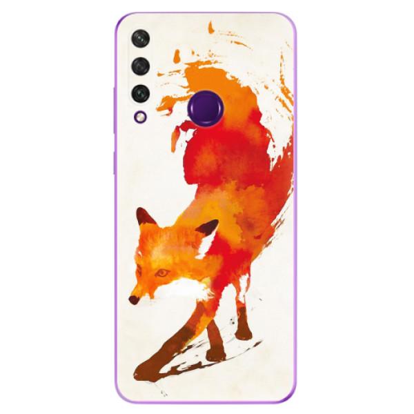 Odolné silikonové pouzdro iSaprio - Fast Fox - Huawei Y6p