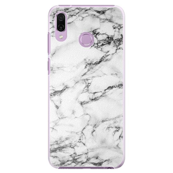 Plastové pouzdro iSaprio - White Marble 01 - Huawei Honor Play