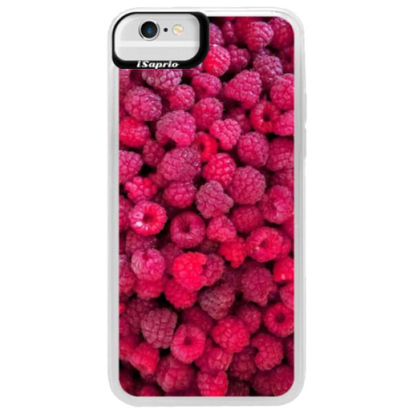 Neonové pouzdro Blue iSaprio - Raspberry - iPhone 6/6S