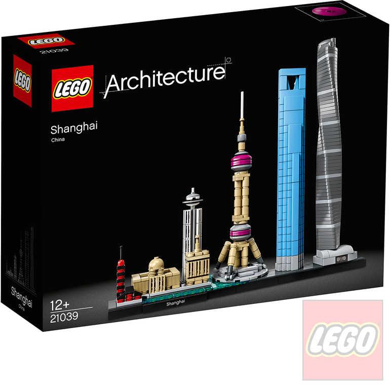 LEGO ARCHITECTURE Šanghaj 21039 STAVEBNICE