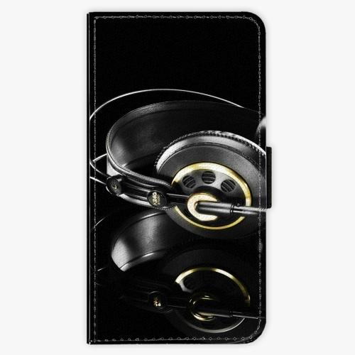 Flipové pouzdro iSaprio - Headphones 02 - Samsung Galaxy J5 2016