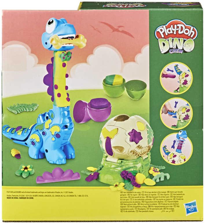 HASBRO PLAY-DOH Dino herní set brontosaurus s modelínou a doplňky