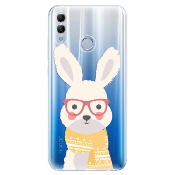 Odolné silikonové pouzdro iSaprio - Smart Rabbit - Huawei Honor 10 Lite