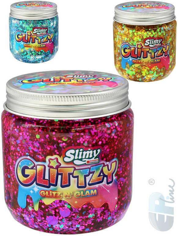 EP Line Slimy Glittzy 240g sliz se třpytkami v nádobce různé barvy