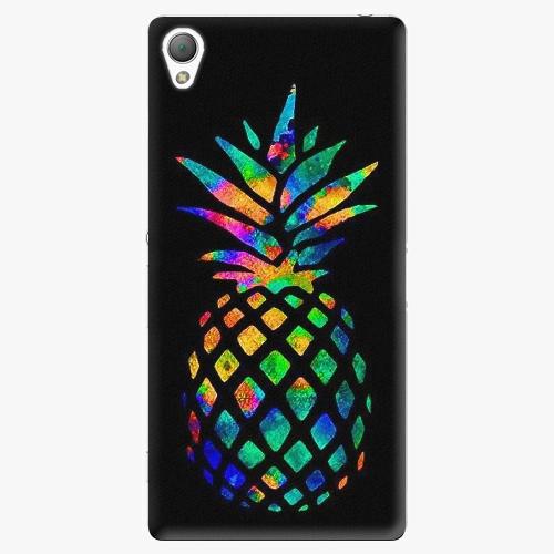 Plastový kryt iSaprio - Rainbow Pineapple - Sony Xperia Z3