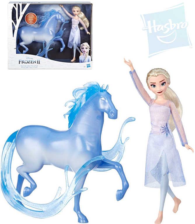 HASBRO Set panenka Elsa + kůň Frozen 2 (Ledové Království)