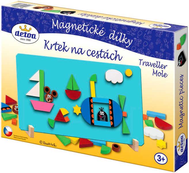 DETOA Dílky magnetické KRTEK (Krteček) Set 31ks