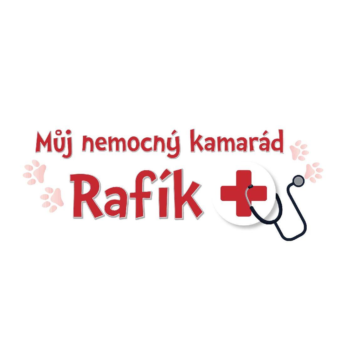 Můj nemocný kamarád Rafík - interaktivní mazlík
