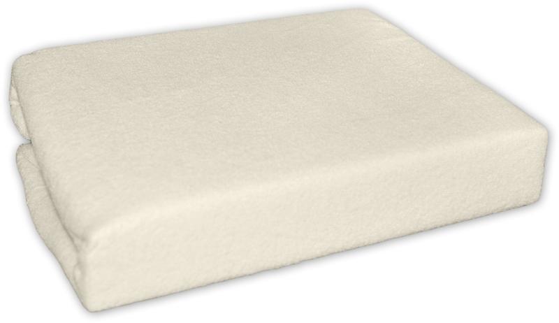 Froté prostěradlo - Ecru - Slonová kost - 120x60