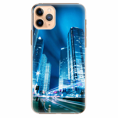 Plastový kryt iSaprio - Night City Blue - iPhone 11 Pro Max