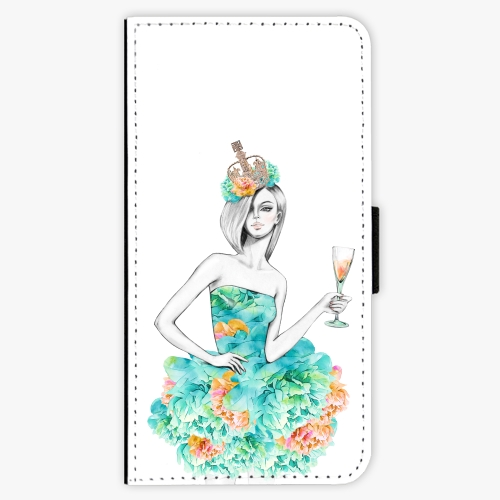Flipové pouzdro iSaprio - Queen of Parties - Lenovo Moto G5 Plus