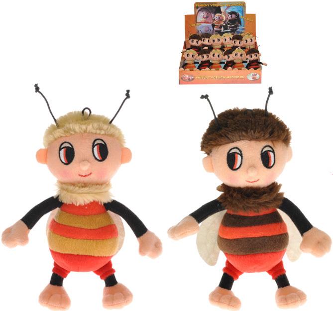 PLYŠ Příběhy včelích medvídků Čmelda / Brumda 18 cm s písničkami na baterie