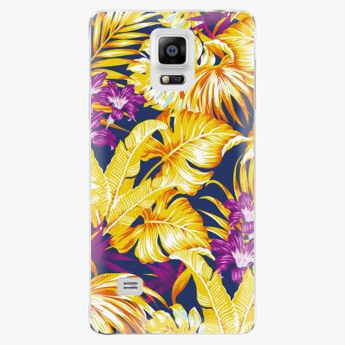 Plastový kryt iSaprio - Tropical Orange 04 - Samsung Galaxy Note 4