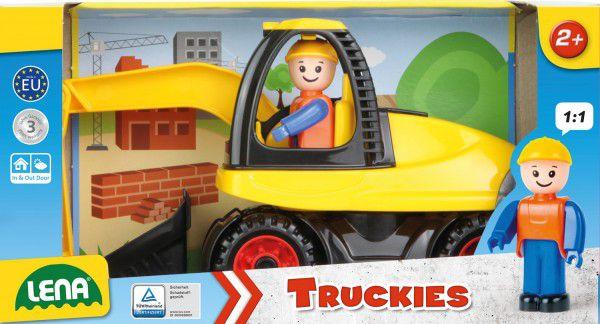 Auto Truckies bagr plast 25cm v krabici 24m+