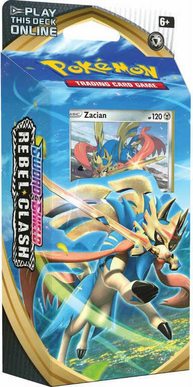 ADC Pokémon TCG: SWSH02 Rebel Clash set 60 karet s mincí a doplňky 2 druhy