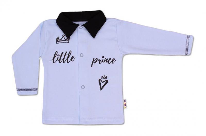Baby Nellys Bavlněná košilka Little Prince