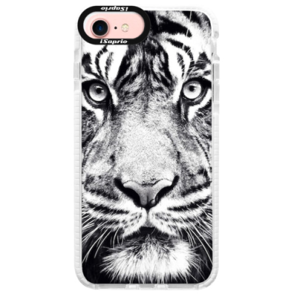 Silikonové pouzdro Bumper iSaprio - Tiger Face - iPhone 7