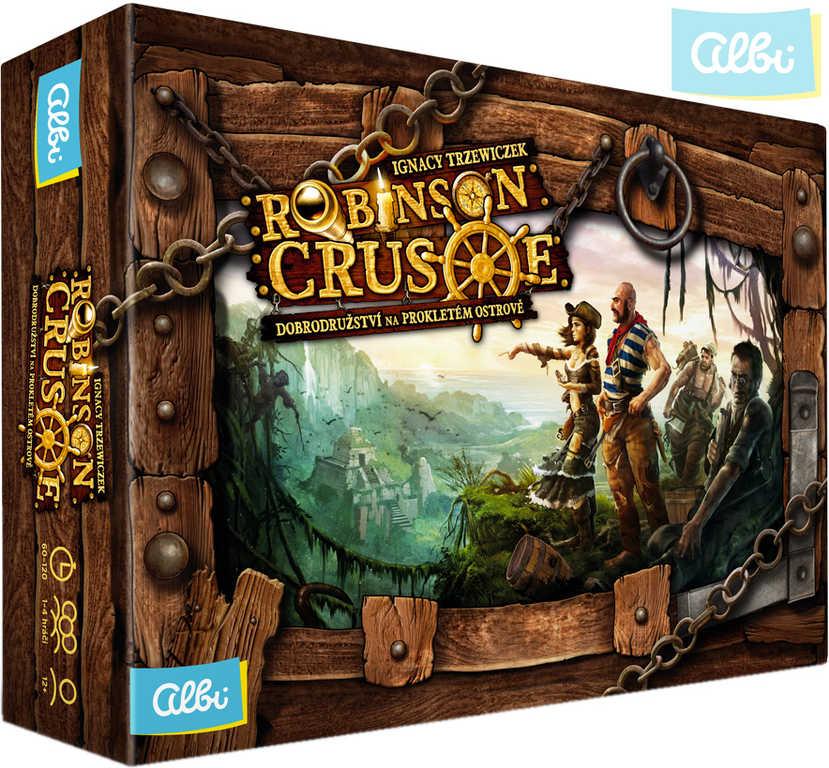 ALBI HRA Robinson Crusoe: Dobrodružství na prokletém ostrově