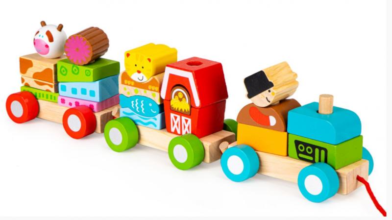 eco-toys-dreveny-vlacek-na-snurku-farma