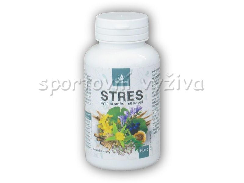 Stres bylinný extrakt 60 kapslí
