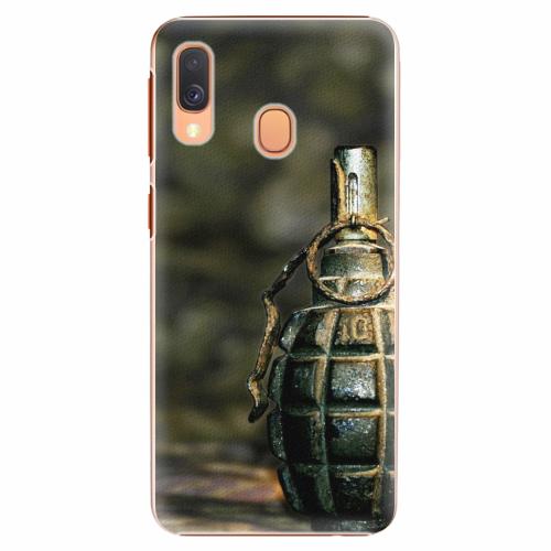 Plastový kryt iSaprio - Grenade - Samsung Galaxy A40