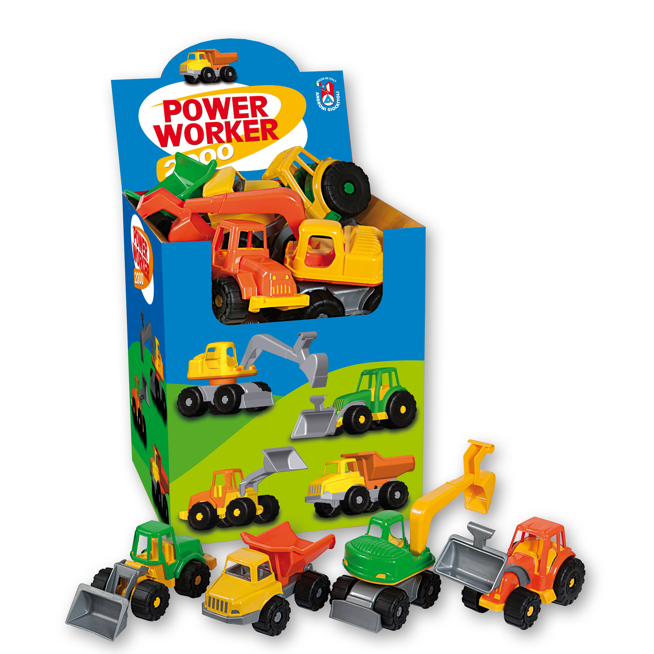 Androni Pracovní stroje Power Worker - displej
