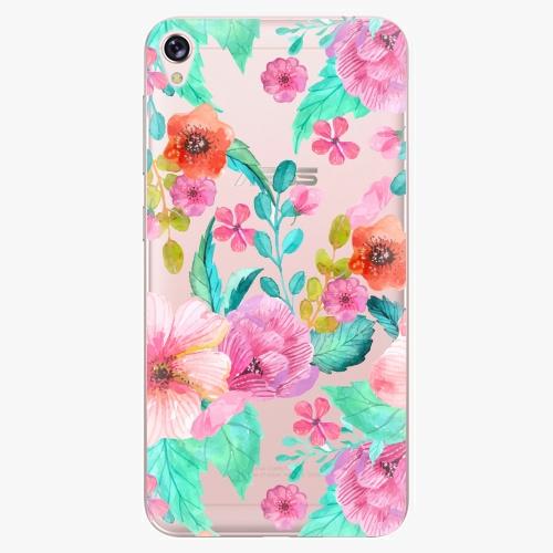 Plastový kryt iSaprio - Flower Pattern 01 - Asus ZenFone Live ZB501KL
