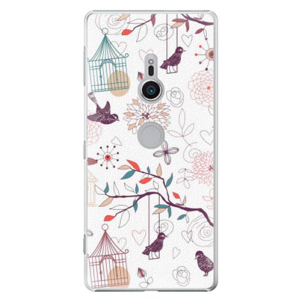 Plastové pouzdro iSaprio - Birds - Sony Xperia XZ2