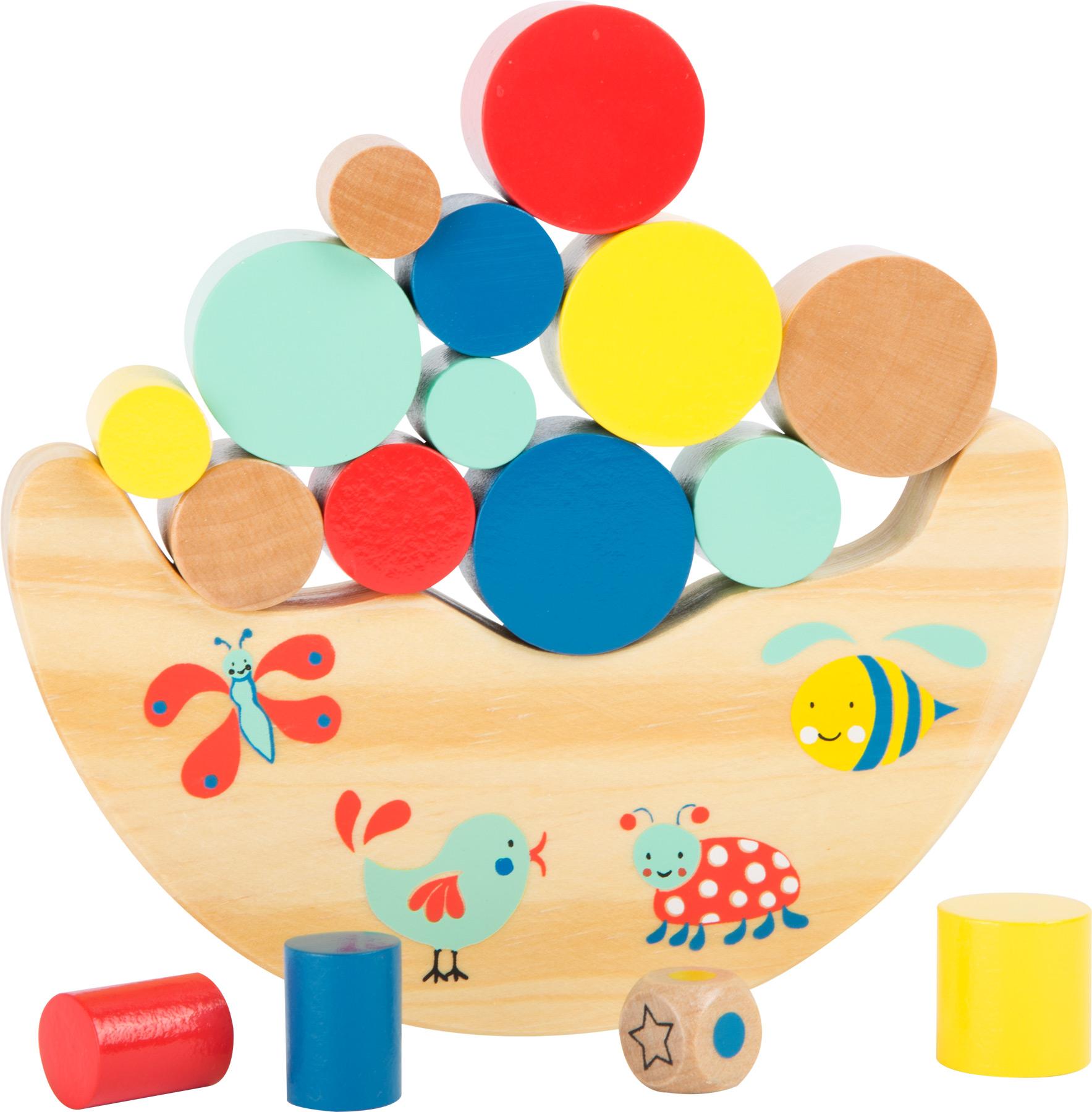 Small Foot Motorické hračky lesní balanční hra