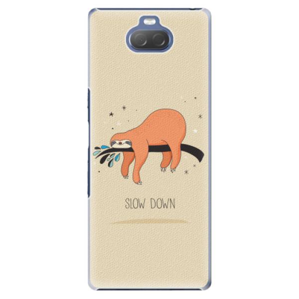 Plastové pouzdro iSaprio - Slow Down - Sony Xperia 10 Plus