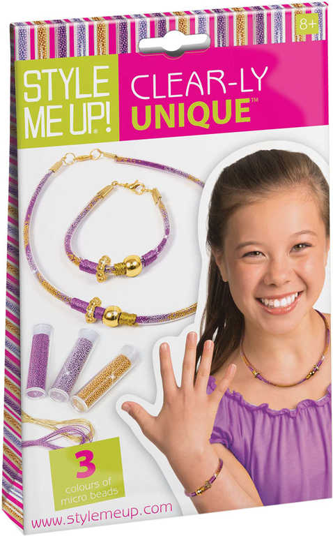 SMU Náramky a náhrdelníky kreativní sada s korálky Style Me Up