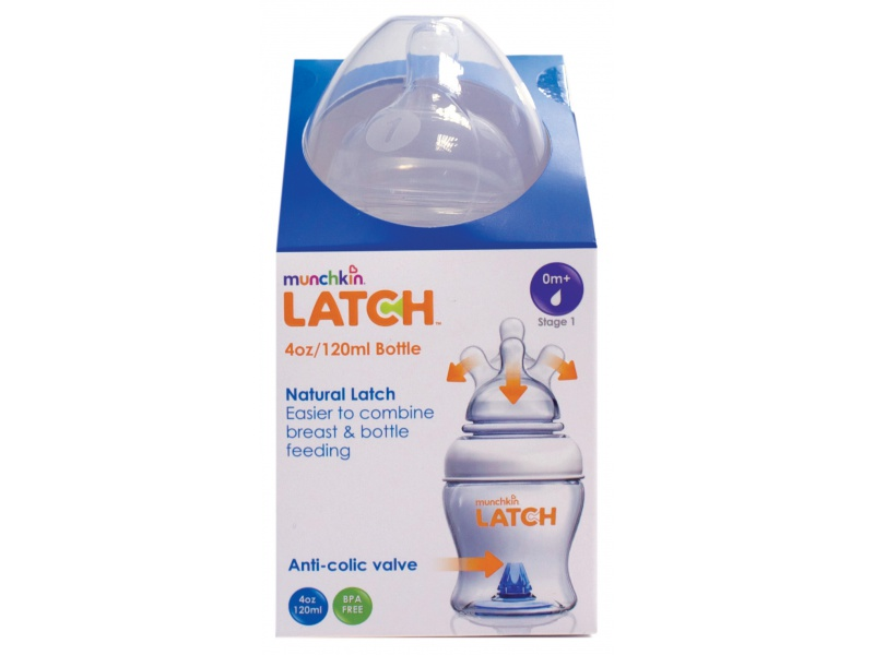 Munchkin Latch - Kojenecká lahev 120ml, 1ks