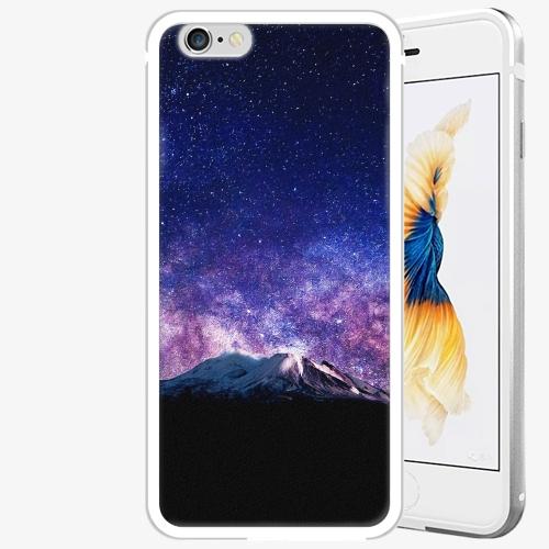 Plastový kryt iSaprio - Milky Way - iPhone 6 Plus/6S Plus - Silver