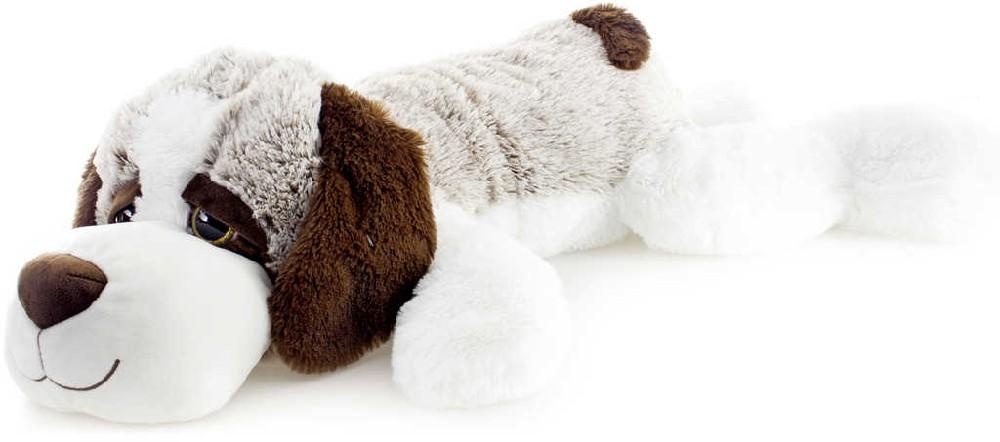 PLYŠ Pes ležící 105cm v sáčku *PLYŠOVÉ HRAČKY*