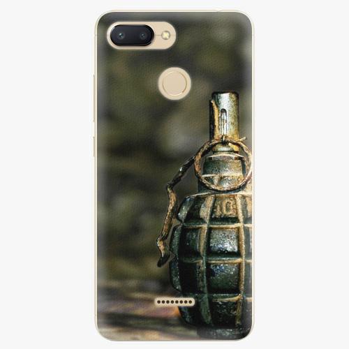 Silikonové pouzdro iSaprio - Grenade - Xiaomi Redmi 6