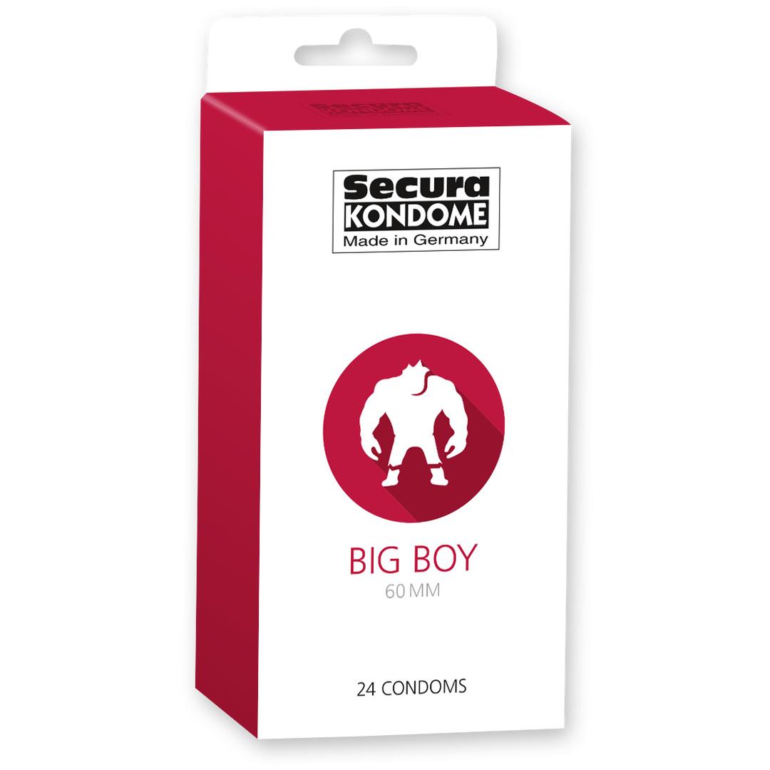 Kondomy Secura Big Boy 60 mm 24 ks