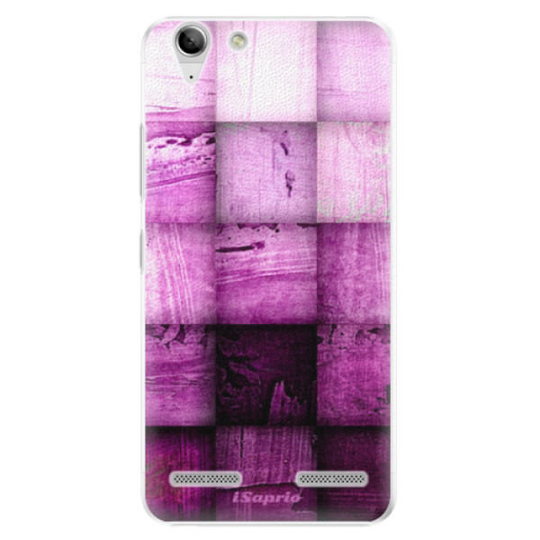 Plastové pouzdro iSaprio - Purple Squares - Lenovo Vibe K5