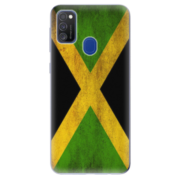 Odolné silikonové pouzdro iSaprio - Flag of Jamaica - Samsung Galaxy M21