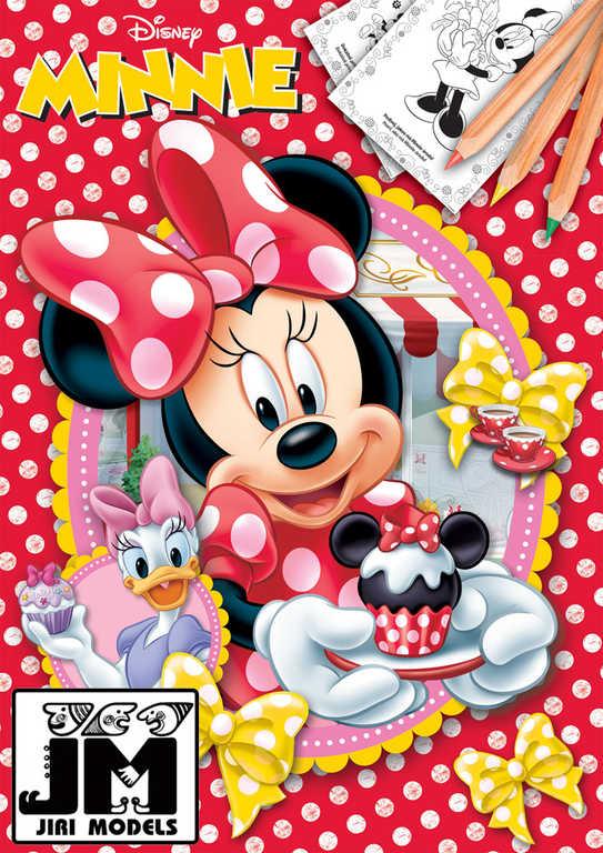JIRI MODELS Omalovánky A4 Disney Minnie Mouse