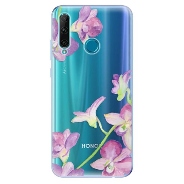 Odolné silikonové pouzdro iSaprio - Purple Orchid - Honor 20e