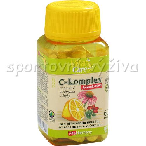 C komplex formula 1000 se šípky 60 tablet